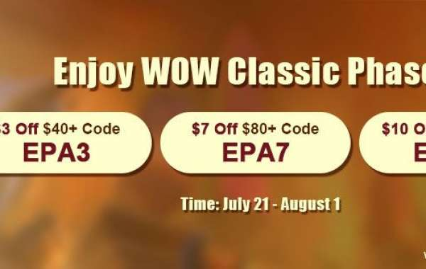 To Prepare Up to 9% off super cheap wow classic gold for WOW Classic Phase 5