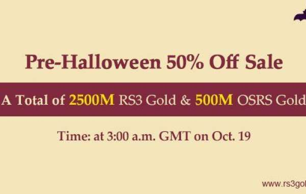 cheap runescape gp with Up to 50% off for you to Spend a Meaningful Halloween Holiday