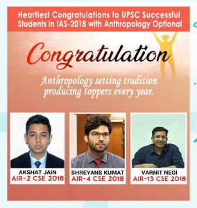 UPSC Anthropology Coaching Institute in India.