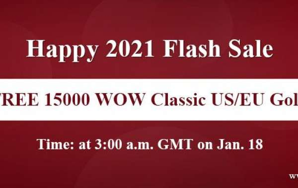 100% Free world of warcraft Classic gold for sell on WOWclassicgp Happy 2021 Flash Sale for you