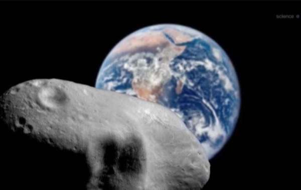 An Asteroid the Size of Four Football Pitches Approaches Earth