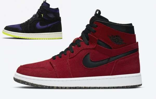 "Air Jordan 1 High Zoom ""Lemon Venom"" CT0979-001/Comfort ""Red Suede"" CT0978-600 For Sale Online"