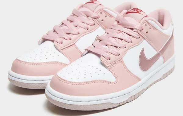 """2021 New Nike Dunk Low GS """"Pink Velvet"""" Cheap For Sale"""