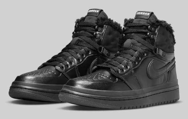 "Air Jordan 1 Acclimate ""Black"" DC7723-001 will be released soon"