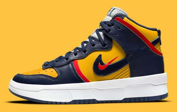 "2021 Nike Dunk High Rebel ""Michigan"" DH3718-701 is coming soon"