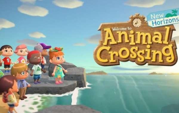 Animal Crossing: a beautiful field full of fireflies