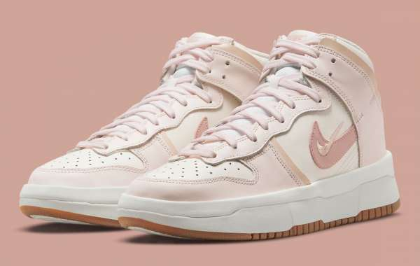 """Nike Dunk High Rebel """"Pink Oxford"""" DH3718-102 release information"""